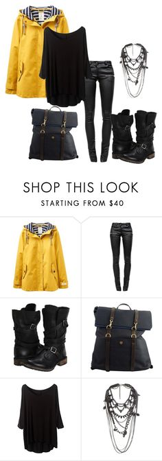"""""""Sem título #798"""" by biaprestes on Polyvore featuring moda, Joules, Anine Bing, Steve Madden, Mismo e River Island"""