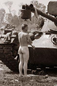 Wash- soldier in vietnam