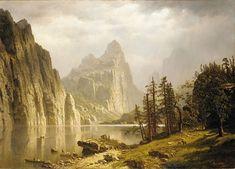 Bierstadt Albert Wharf Scene A4 Print Art