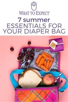 Here's everything additional you need to stock in your diaper bag for a happy, healthy, and safe summer. #diaperbag #whattoexpect | whattoexpect.com