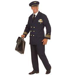 Widmann 57733 - Erwachsenenkostüm Pilot