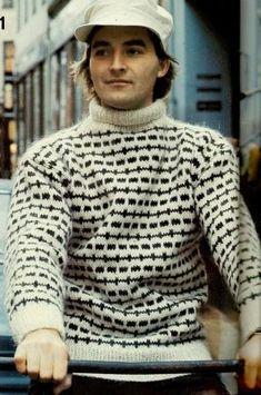 Retrosiden Ravelry, Knitwear, Knitting Patterns, Winter Fashion, Men Sweater, Sewing, Model, Sweaters, How To Wear