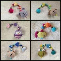 Crochet Pacifier Clip, Crochet Baby Toys, Baby Blanket Crochet, Baby Knitting, Pacifier Holder, Baby Rattle, Baby Kind, Craft Fairs, Baby Hats