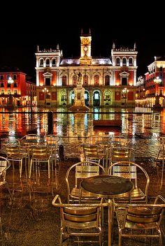 Plaza Mayor de Valladolid, España