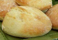 Petits pains sans pétrissage  #recette #pain #facile