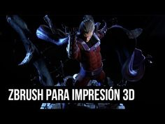 ZBRUSH PARA IMPRESIÓN 3D BY DANIEL BEL