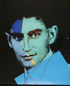 Andy Warhol (1928–1987) - 1980, Ten Portraits of Jews of the Twentieth Century, Franz Kafka