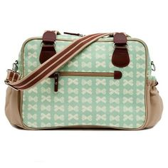 Pink Lining Not So Plain Jane Changing Bag (Peppermint)