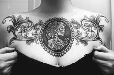 like the tattoo just hate it on the middle chest...maybe just the swirls on a calf?