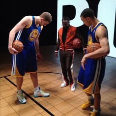 @dlee042: Me and @Stephencurry30 hanging with Will.I.Am at media day... #NBAALLSTAR