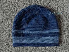 Pánská zimní háčkovaná čepice