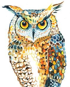 'Owl' by Emily Stalley