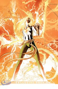 Hope Summers Phoenix by Mike Deodato Jr, colors by Rain Beredo Marvel Comic Character, Comic Book Characters, Marvel Characters, Comic Books Art, Character Art, Marvel Comics, Comics Anime, Marvel Heroes, Captain Marvel