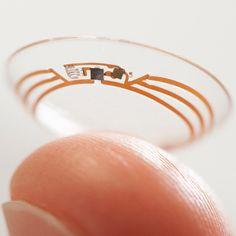 "Google's ""smart contact lenses"" could help diabetics monitor blood sugar levels"
