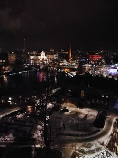 Tampere Finland Nightlights