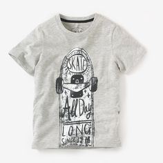 Deck out your boys in polo shirts and t-shirts. Essential & affordable, our boy's t-shirts stand the test of time. Enjoy free returns with La Redoute. Baby Shirts, Boys T Shirts, T Shirts For Women, Baby Kids Wear, Kids Fashion Boy, Printed Tees, Baby Wearing, Boy Outfits, Earthworms