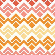 Keepsake Calico™ Cotton Fabric-Sorbet Collection Chevron