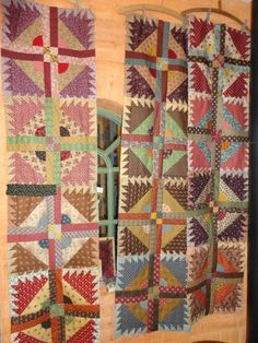 quilting Jeannet: colored blocks...love these blocks