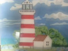 The lighthouse to home.
