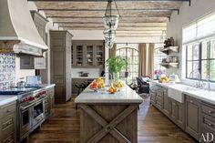 Flot farve køkken