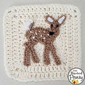 Written Crochet Pattern for a Crochet Applique.