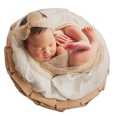 Baby Photography Props Headdress Blanket Newborn Photo Shoot Outfits  Crochet Costume Infant Boy Girl Knitted Clothes d6b5a5a5661e