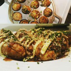 いいね!15件、コメント2件 ― cyrusさん(@saifc_)のInstagramアカウント: 「Homemade takoyaki actually turned out quite well #itadakimasu #cookingwithdog #ripfrancis」