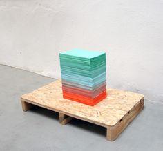 A4 paper gradient by Jordi Ferreiro