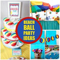 How to Throw a Bouncy Beach Ball Bash!