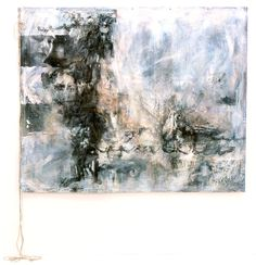 "Images in Art | Untitled, 2000, mixed media on canvas with rope, 60"" x 73"" (canvas ..."