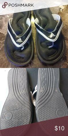 3e6e147b1 Shop Men s adidas Black size 10 Sandals   Flip-Flops at a discounted price  at Poshmark. Description  Very comfy black Adidas flip flop sandal slides.