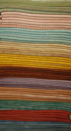 """[Right Stack] 11 of 22 (new) Hand-Dyed """"Vintage Shades"""" for my March 2013 eBay round @ http://stores.ebay.com/woolnwares  **Back to my dye pots next week...working on some gorgeous hand-dyed wool & SPOT dyes for late Spring & early Summer...stay tuned June 2014!"""