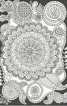 A personal favorite from my Etsy shop https://www.etsy.com/listing/161615011/mandala-flowers-and-crazy-swirls-by