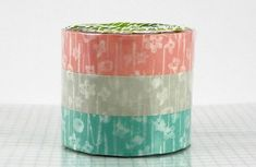Small Flowers Washi Tape Japanese Washi Paper Set of by PrettyTape, $10.00