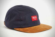 Brixton X UO Finnegan 5-Panel Hat