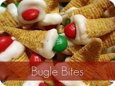 No bake Elf Hats with 3 ingredients