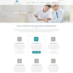 Design a clean, modern website for a bookkeeping business Bookkeeping business which partners with small businesses to help them manage their business. This is part of a compl. Bookkeeping Business, Internet Logo, Web Design, Logo Design, Modern Website, Wordpress Theme Design, Typography Design, Cleaning, Small Businesses