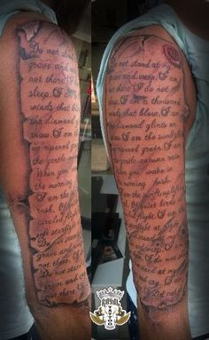 Text Paper Stamp Tattoo Old effect Papyrus