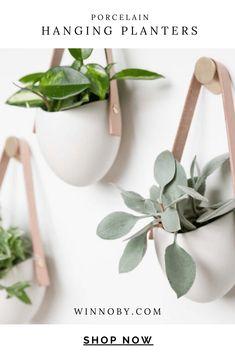 Indoor Planters, Hanging Planters, Ceramic Planters, Wall Mounted Planters Indoor, Wooden Planters, Plant Wall, Plant Decor, Floating Garden, Decoration Plante