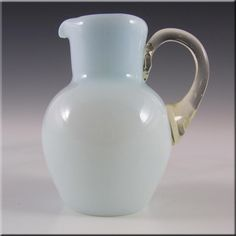 Stourbridge Victorian 1890s Cased Glass Creamer/Jug - £19.99