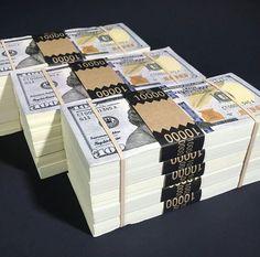 Stacks of cash money for me...