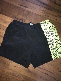 885e148a6f Vintage 90's OP Ocean Pacific Men's Swim Trunks Shorts Swimwear - Size Large
