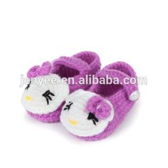 Look what I found Via Alibaba.com App: - Cute design 100% crocheted baby socks wholesale