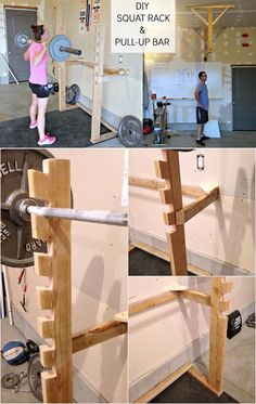 Check out 9 DIY Squat Rack Ideas at https://diyprojects.com/squat-rack-ideas/