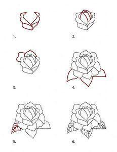 draw-classic-tattoo-style-rose