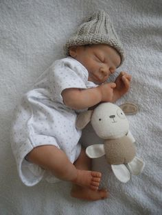 ooak polymer clay newborn by Silent Friends,