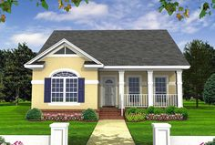 Energy-Saving House Plan - 51011MM | 1st Floor Master Suite, CAD Available, Cottage, PDF, USDA Approved | Architectural Designs