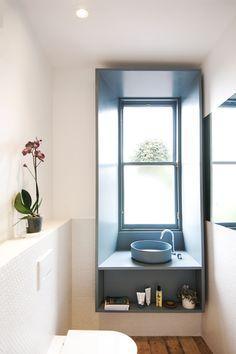 modern bathroom - fga Designs To Draw, Modern Bathroom, Bathroom Lighting, Interior Design, Mirror, Architecture, Projects, Furniture, Home Decor