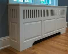 Radiator Cover - traditional - living room - minneapolis - Steven Cabinets