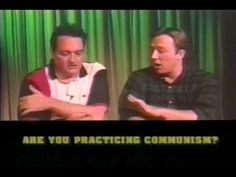 """Jeff Davis Show"" Are you Practicing Communism  Alex Jones and Jeff Davis discuss  -  Most Americans are unaware  the ""Communist Manifesto"" and all 10 planks have been installed in America. Central bank, income tax, Government education, property taxes.... Aired Live Channel Austin TV studios Austin Texas USA -- 1999"